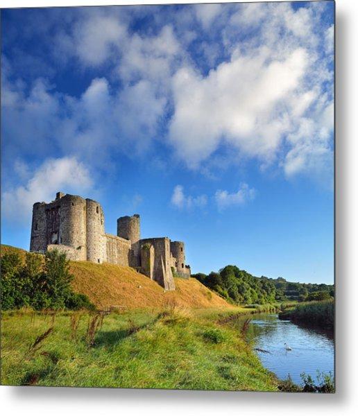 Kidwelly Castle 1 Metal Print