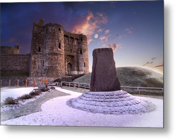 Kidwelly Castle 2 Metal Print