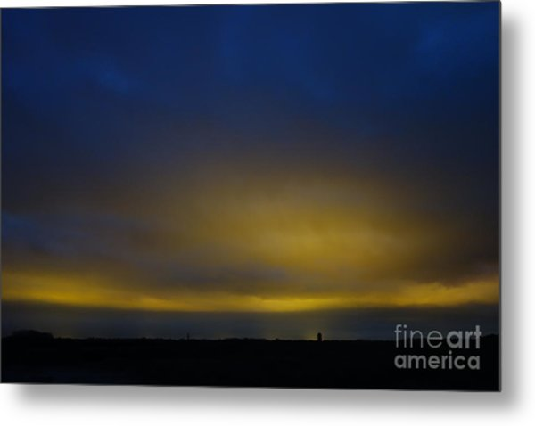 Kijkduin Sunset Metal Print