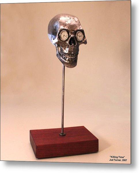Killing Time Metal Print by Jud  Turner