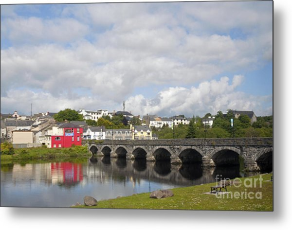Killorglin Bridge Metal Print