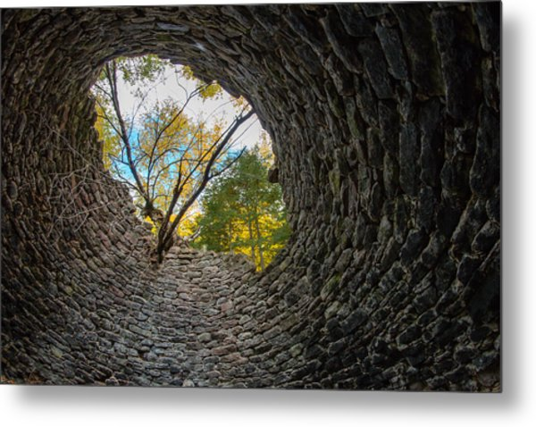 Kiln's Eye Metal Print