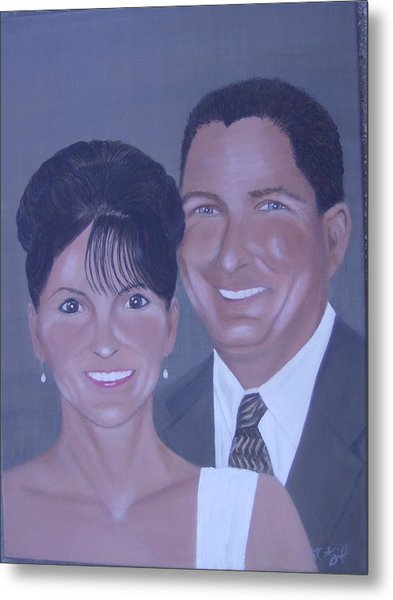 Kim And Kevin Metal Print by KC Knight
