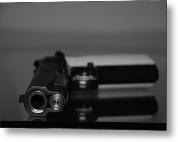 Metal Print featuring the photograph Kimber 45 by Rob Hans