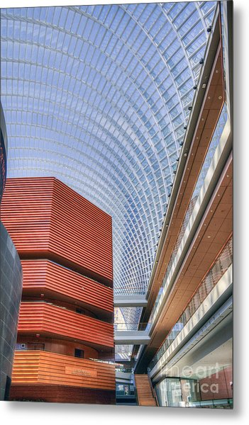 Kimmel Center For The Performing Arts Metal Print