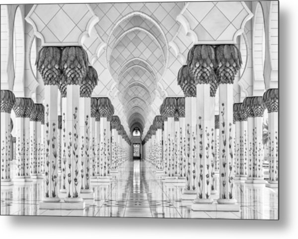 Kind Of Symmetry Metal Print