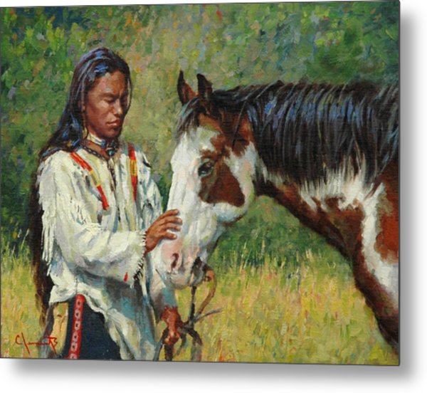 Kindred Spirits Metal Print by Jim Clements