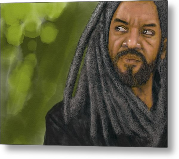 King Ezekiel Metal Print