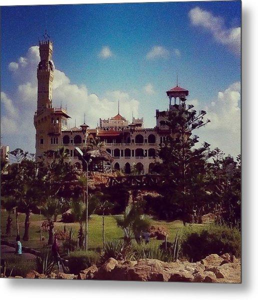 King Farouk Castle, Alexandria, Egypt Metal Print