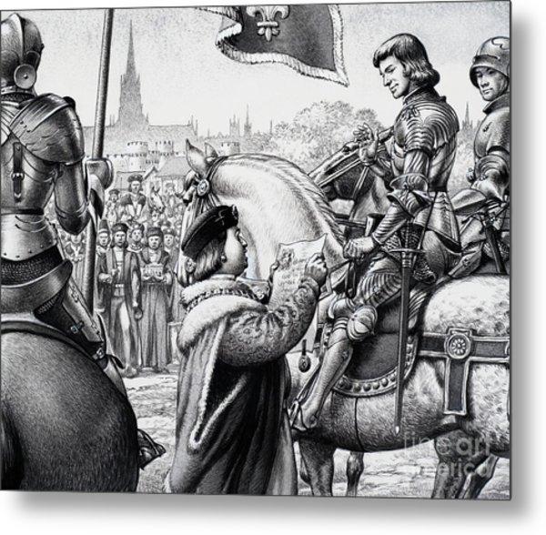 King Henry Vii Metal Print