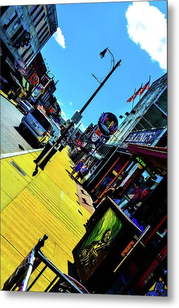 King Of Beale Metal Print