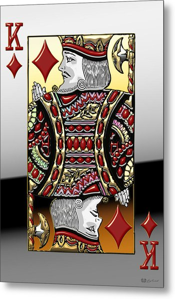 King Of Diamonds   Metal Print