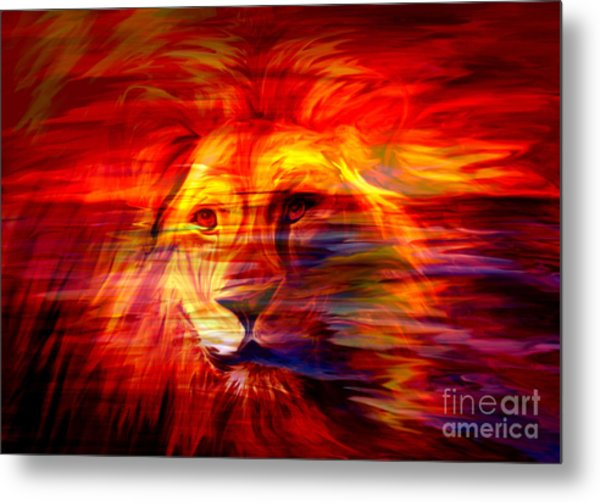 King Of Glory Metal Print