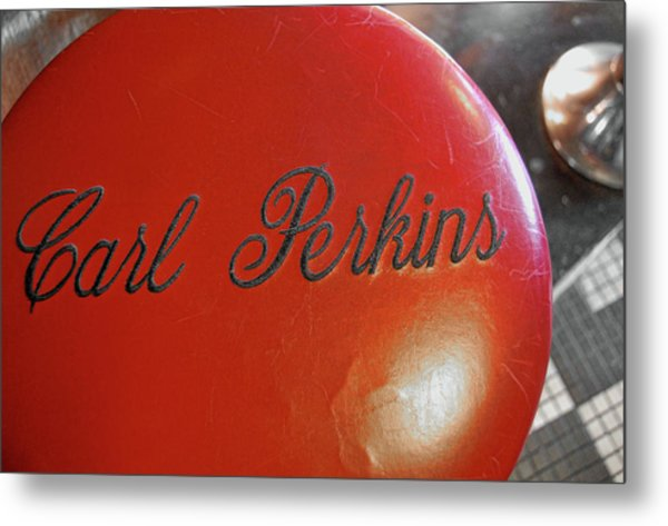 King Of Rockabilly Metal Print by JAMART Photography