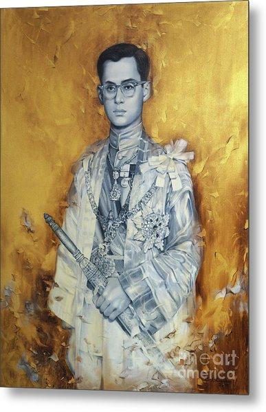 King Bhumibol Metal Print by Chonkhet Phanwichien