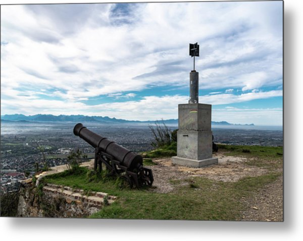 Kings Blockhouse On Table Mountain Metal Print