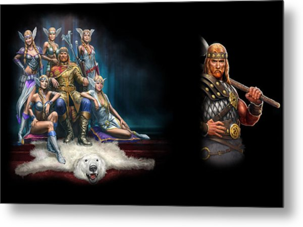 King's Bounty Warriors Of The North Metal Print