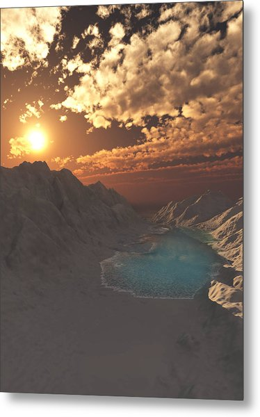 Kings Canyon Metal Print