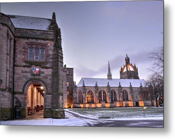 King's College - University Of Aberdeen Metal Print