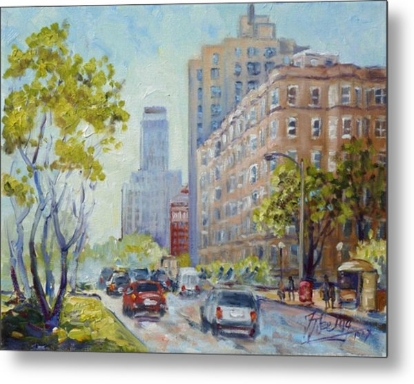 Kingshighway Blvd - Saint Louis Metal Print