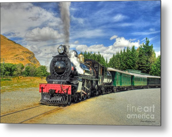 Kingston Flyer Metal Print