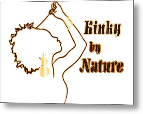 Kinky By Nature Metal Print