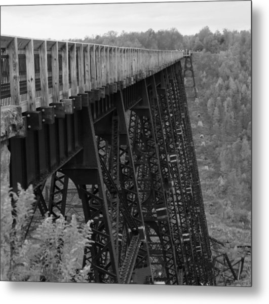 Kinzua Skywalk Metal Print