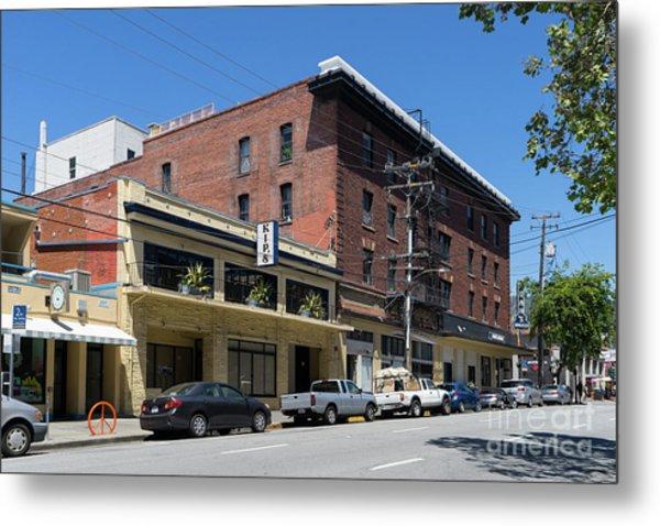 Kips Pizza Restaurant On Durant Avenue Off Telegraph Avenue In Berkeley California Dsc6233 Metal Print