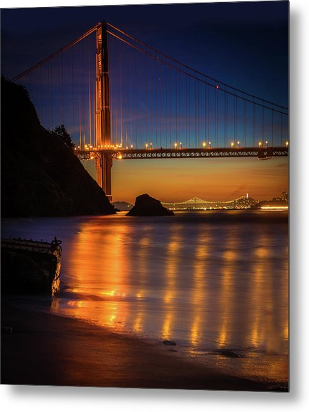 Kirby Cove Metal Print