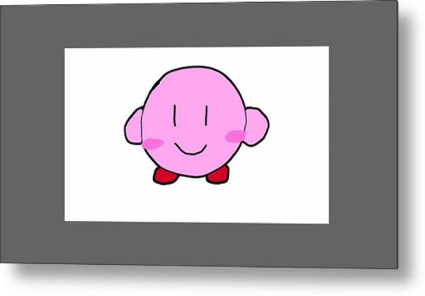 Kirby Metal Print
