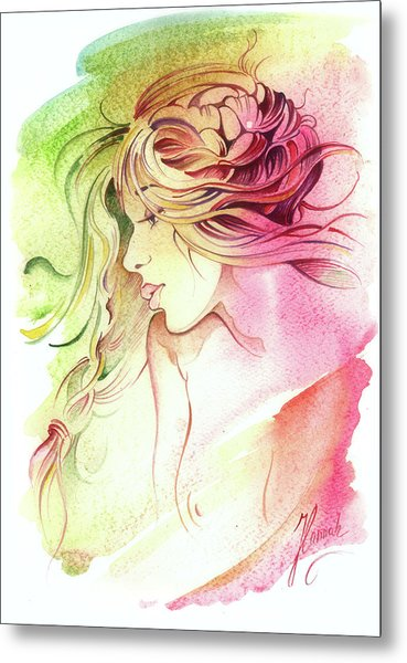 Kiss Of Wind Metal Print