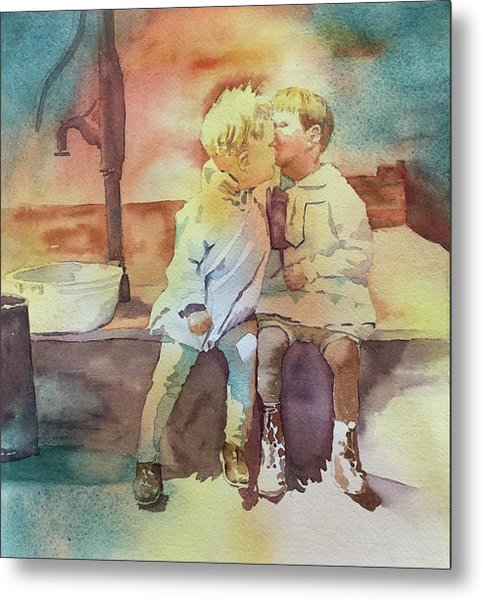 Kissing Cousins Metal Print