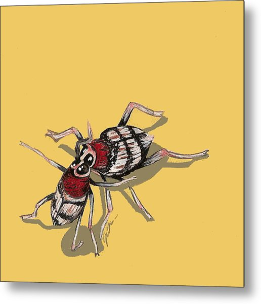 Kissing Weevils Metal Print