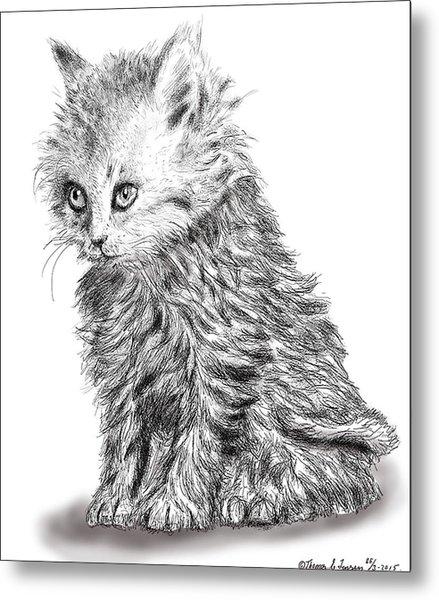 Kitten #1 Metal Print