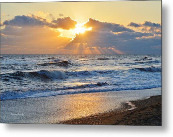 Kitty Hawk Sunrise Metal Print