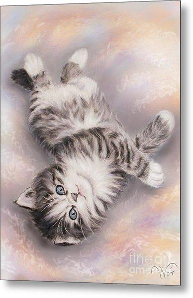Kitty Metal Print by Valentina Vassilieva