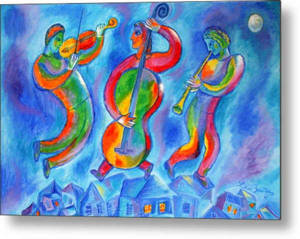Klezmer On The Roof Metal Print
