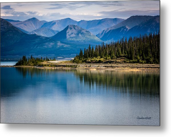Kluane Lake Metal Print