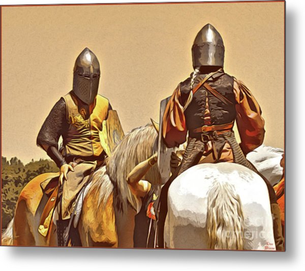 Knight's Conference Metal Print