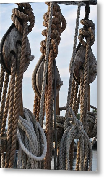 Knot Time Metal Print