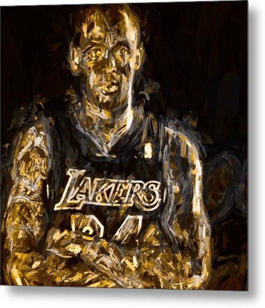 Kobe The Golden Child Bryant Is Metal Print