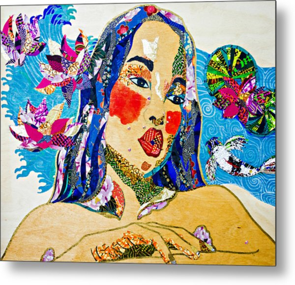 Koi Princess Metal Print
