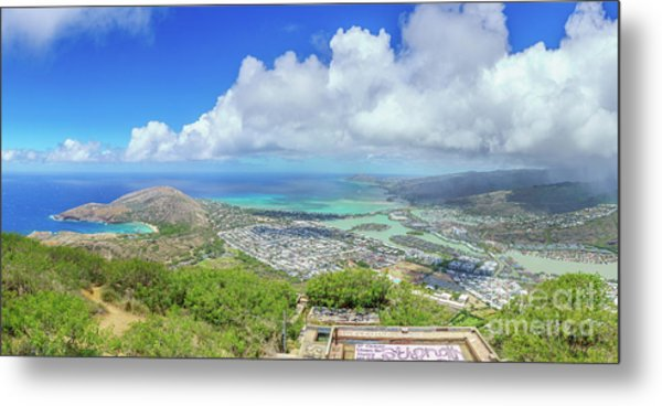 Kokohead Oahu, Hawaii Metal Print