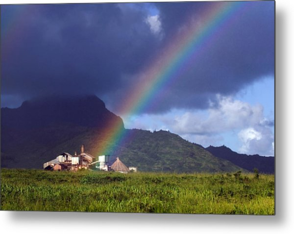 Koloa Mill Metal Print by Nick Galante