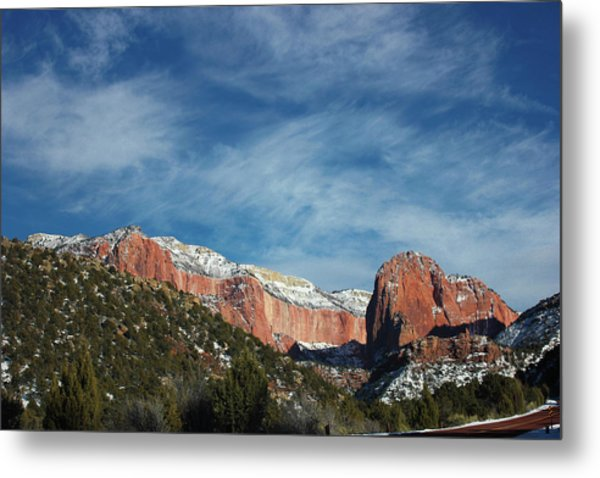 Metal Print featuring the photograph Kolob Canyon by Jessica Tabora