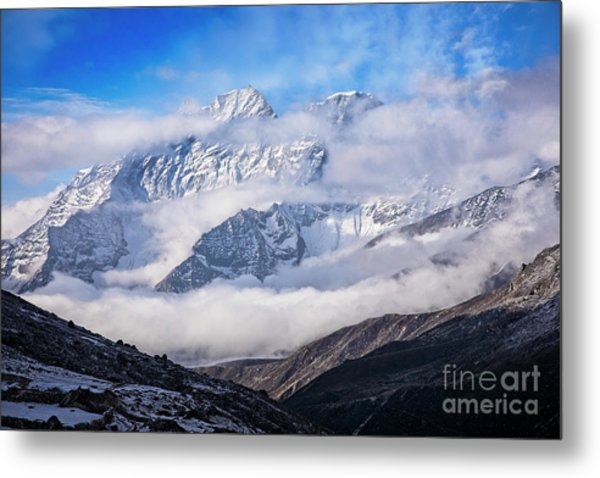 Kongde Ri Metal Print by Scott Kemper