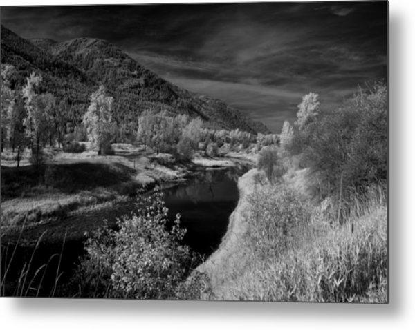 Kootenai Wildlife Refuge In Infrared 3 Metal Print