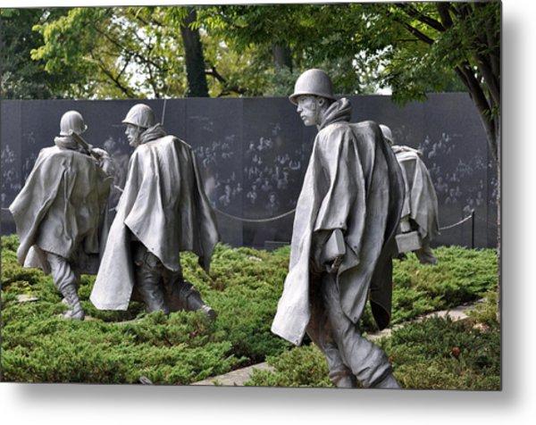 Korean War Memorial 3 Metal Print