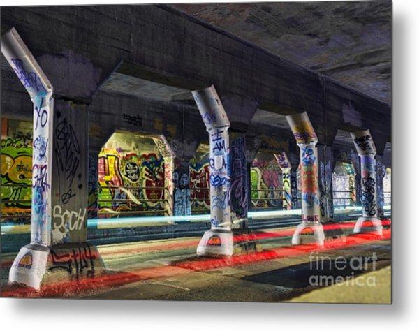 Krog Street Tunnel Metal Print