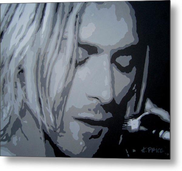 Kurt Cobain Metal Print